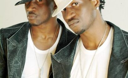 P-Square - identical twin brothers Peter and Paul Okoye