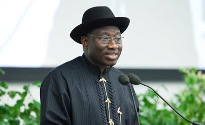 Nigerian President, Goodluck Jonathan