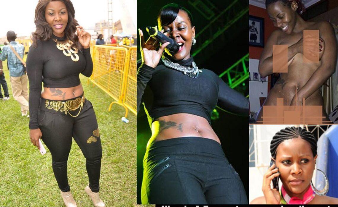 Desire Luzinda whose photos were leaked alleged by her Nigerian ex-Boyfriend, Franklin Emuobor Ebenhron