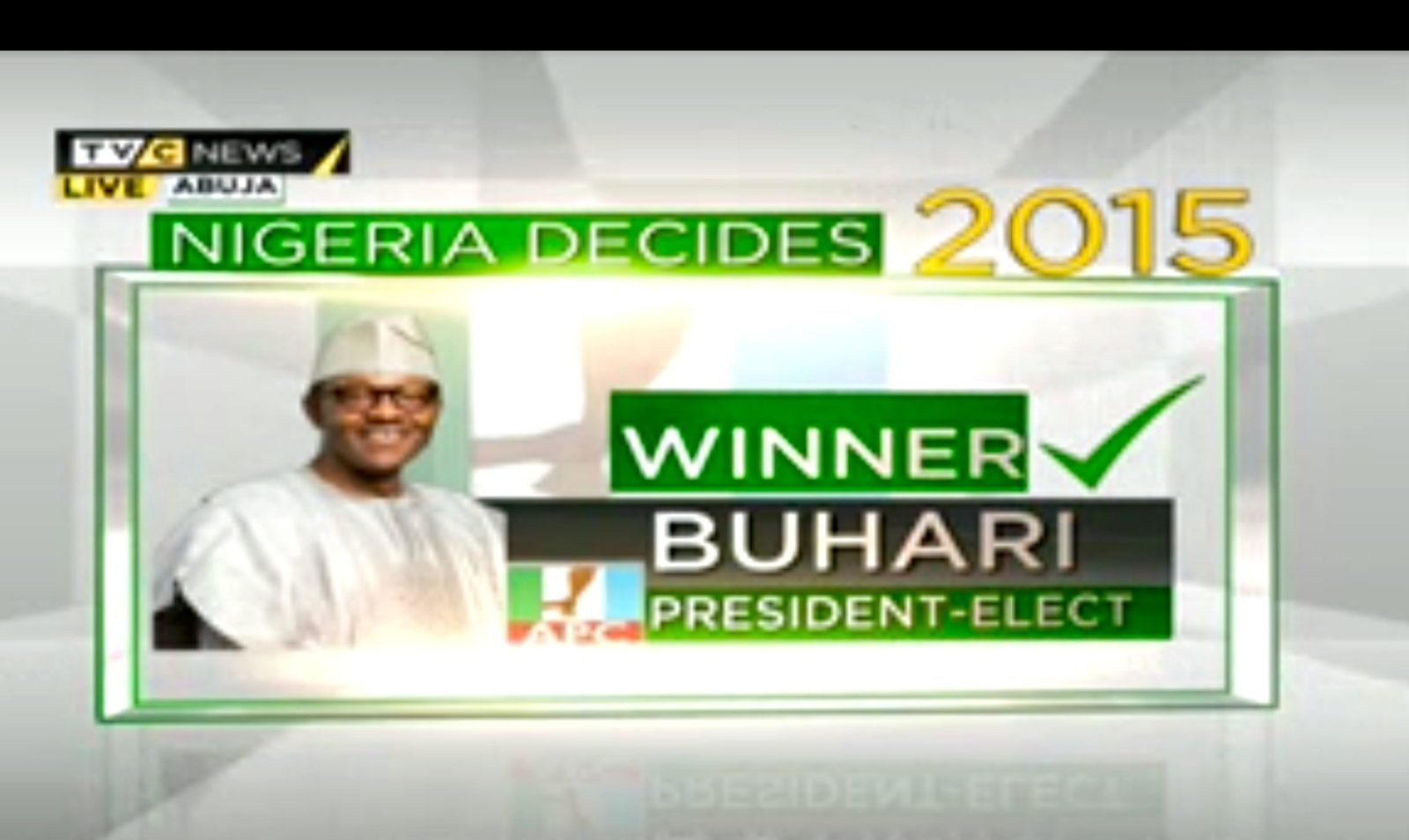 Nigeria President Elect - Muhamadu Buhari wins election 2015