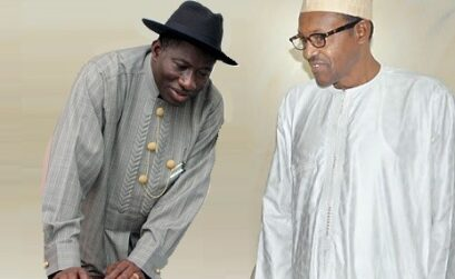Gen Buhari condoles Jonathan over Oronto Douglas.