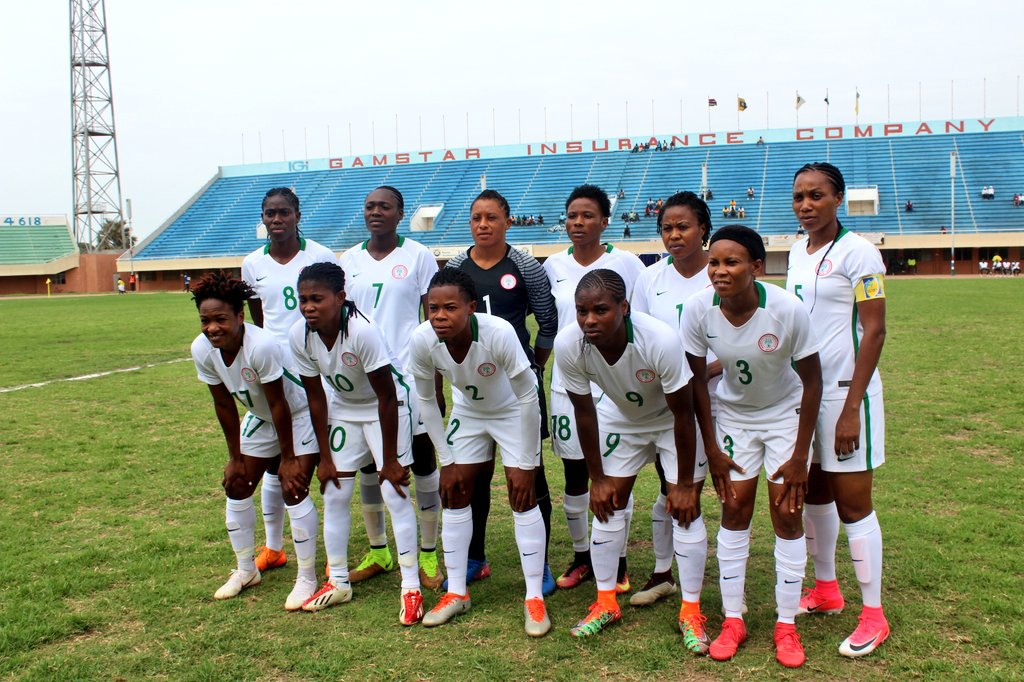 Super Falcons edge Gambia in AWCON Qualifier first leg