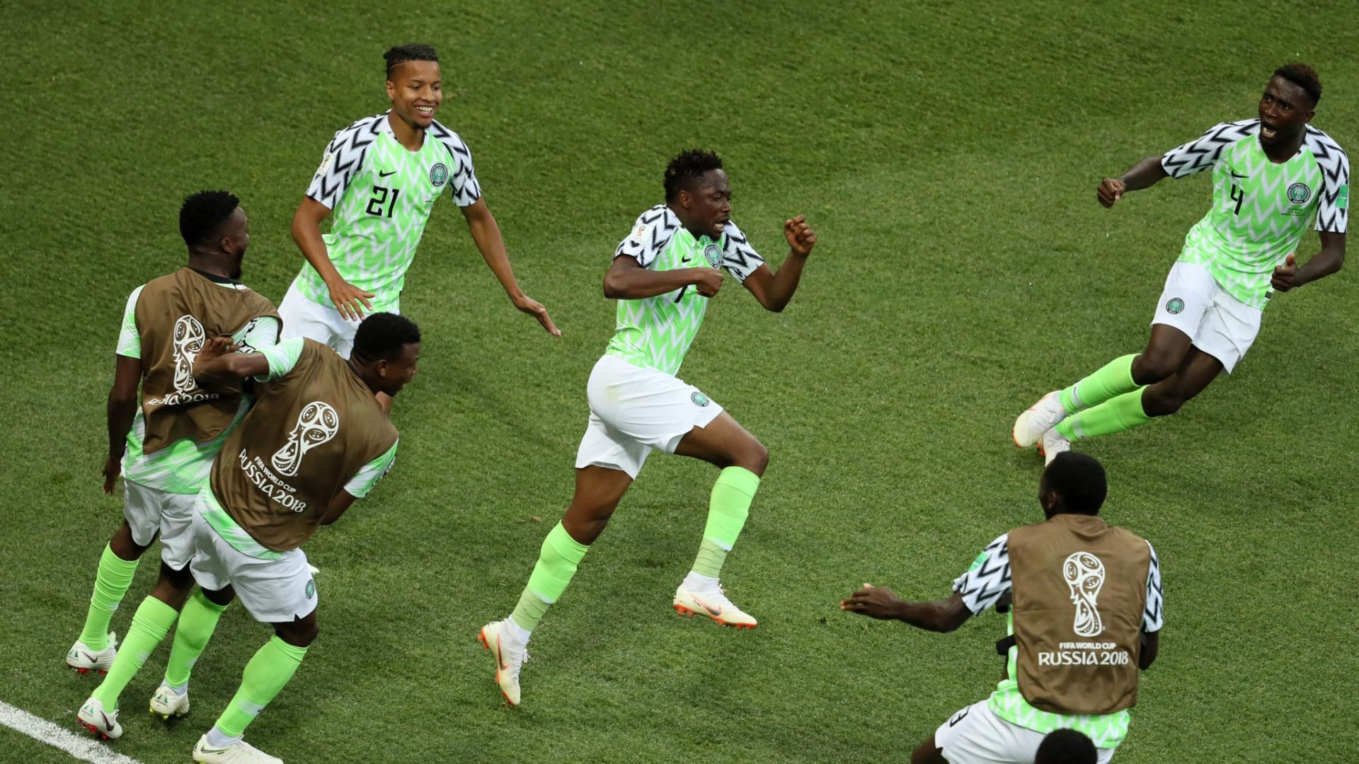 Musa brace brings Nigeria back into contention