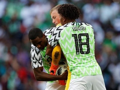 AFCON Qualifier: Ighalo, Iwobi, Ajayi hit camp