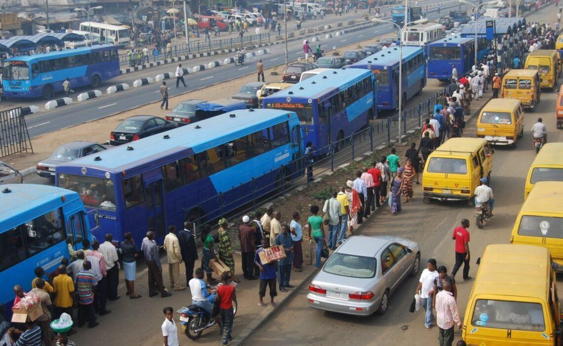 Oshodi Lagos Bus Interchange