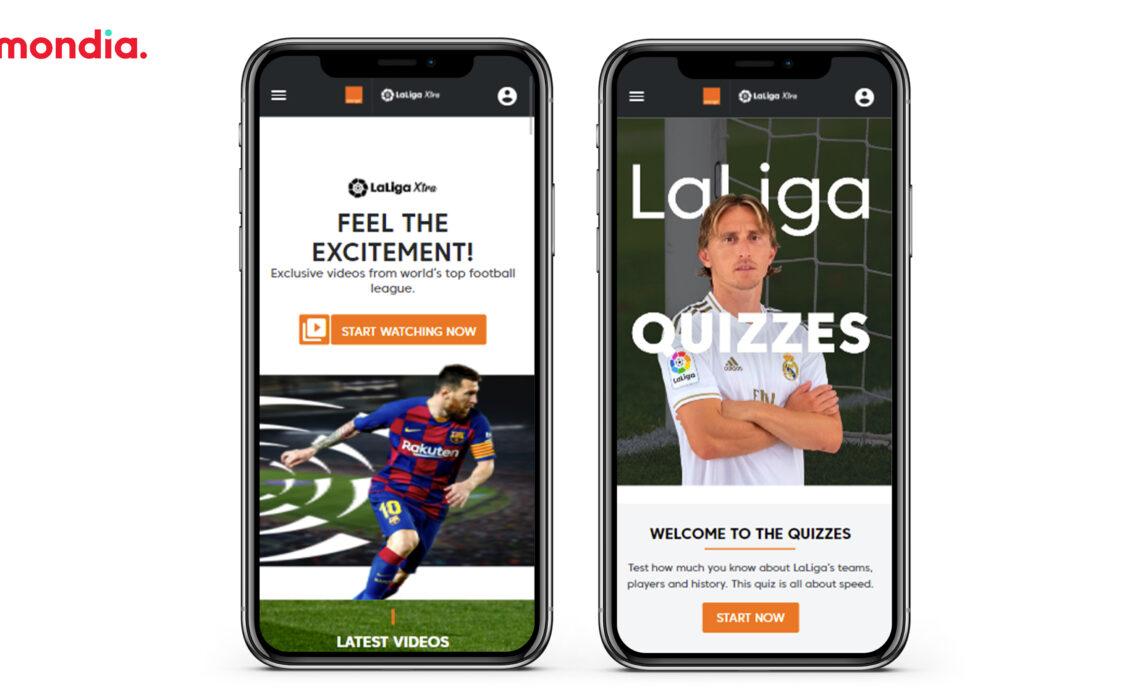 exclusive LaLiga Xtra subscription-based platform