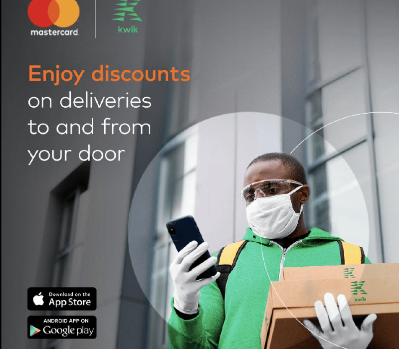 Kwik Delivery and Mastercard
